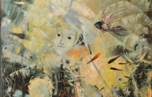 LA DAMA DEL MAR | Óleo: 1958  |  74x115 cm