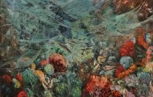 LA HUELLA DEL HOMBRE  |  Óleo:  1986  |  130x97 cm
