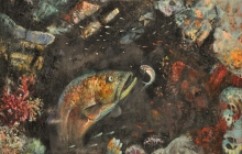 LA GRUTA DEL MERO  |  Óleo: 1992  |  66x81 cm