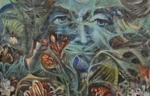 REFLEJO  |  Óleo: 1996  |  73x60 cm