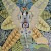 MICRO ORGANISMO II  |  Óleo: 1989  |  80x100 cm