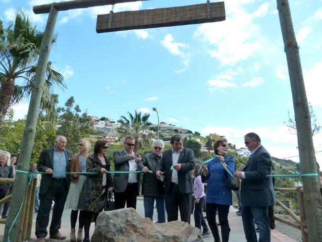 Inauguración de la Avenida del Pintor Domínguez de Haro